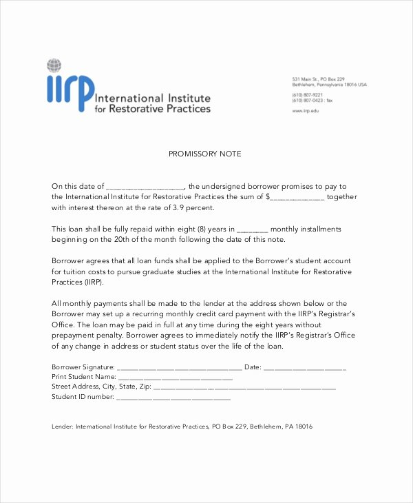 International Promissory Note Template Inspirational 19 Simple Promissory Note Templates Google Docs Ms