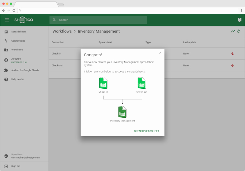 Inventory Template Google Sheets Best Of Inventory Management Template In Google Sheets Sheetgo