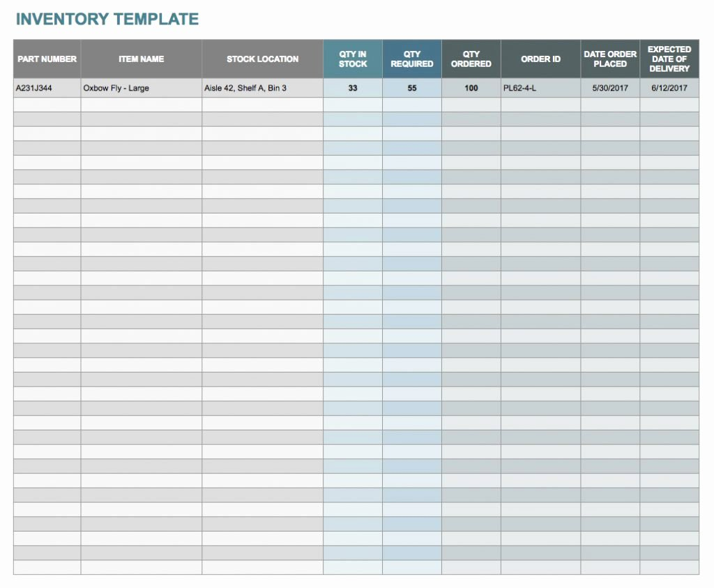 Inventory Template Google Sheets Luxury Inventory Spreadsheet Example