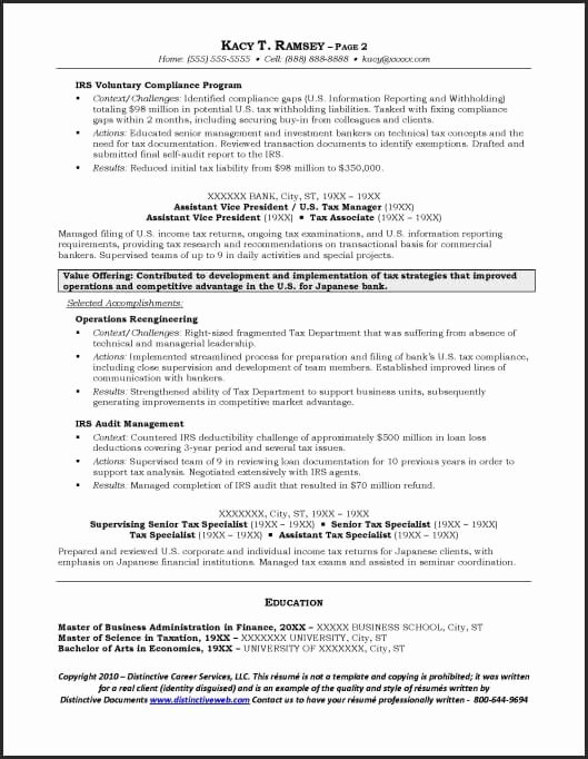 Investment Banking Resume Template Luxury Investment Banking Resume Example