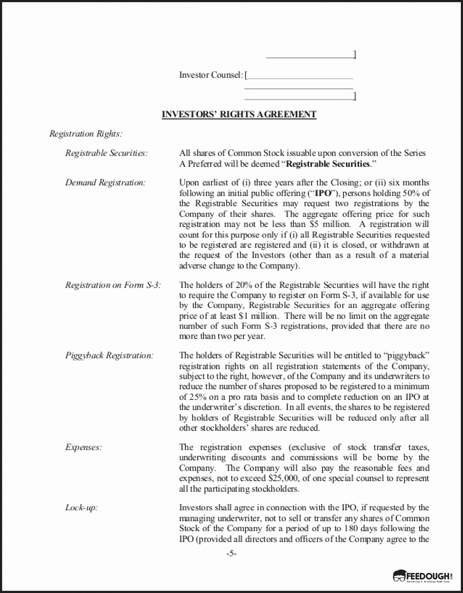Investment Term Sheet Template Beautiful Term Sheet Everything You Need to Know