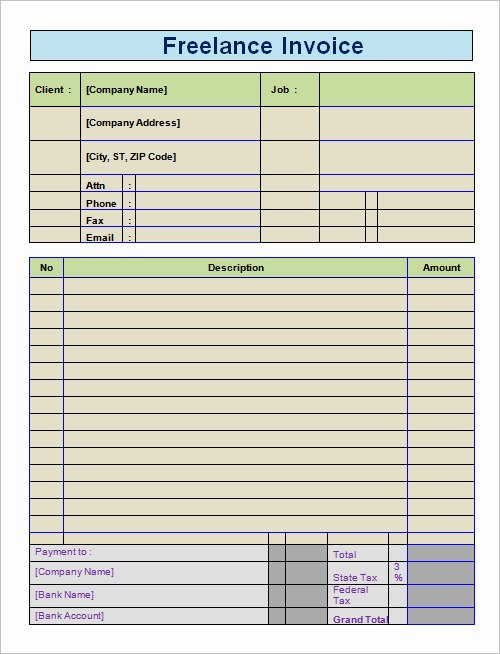 Invoice Template for Freelance Lovely Sample Invoice for Freelance Services Freemixip