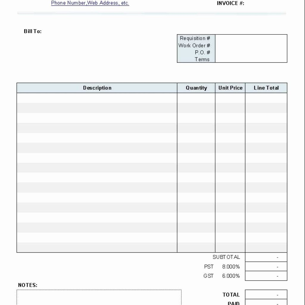 Invoice Template for Mac Fresh Word Invoice Template Mac