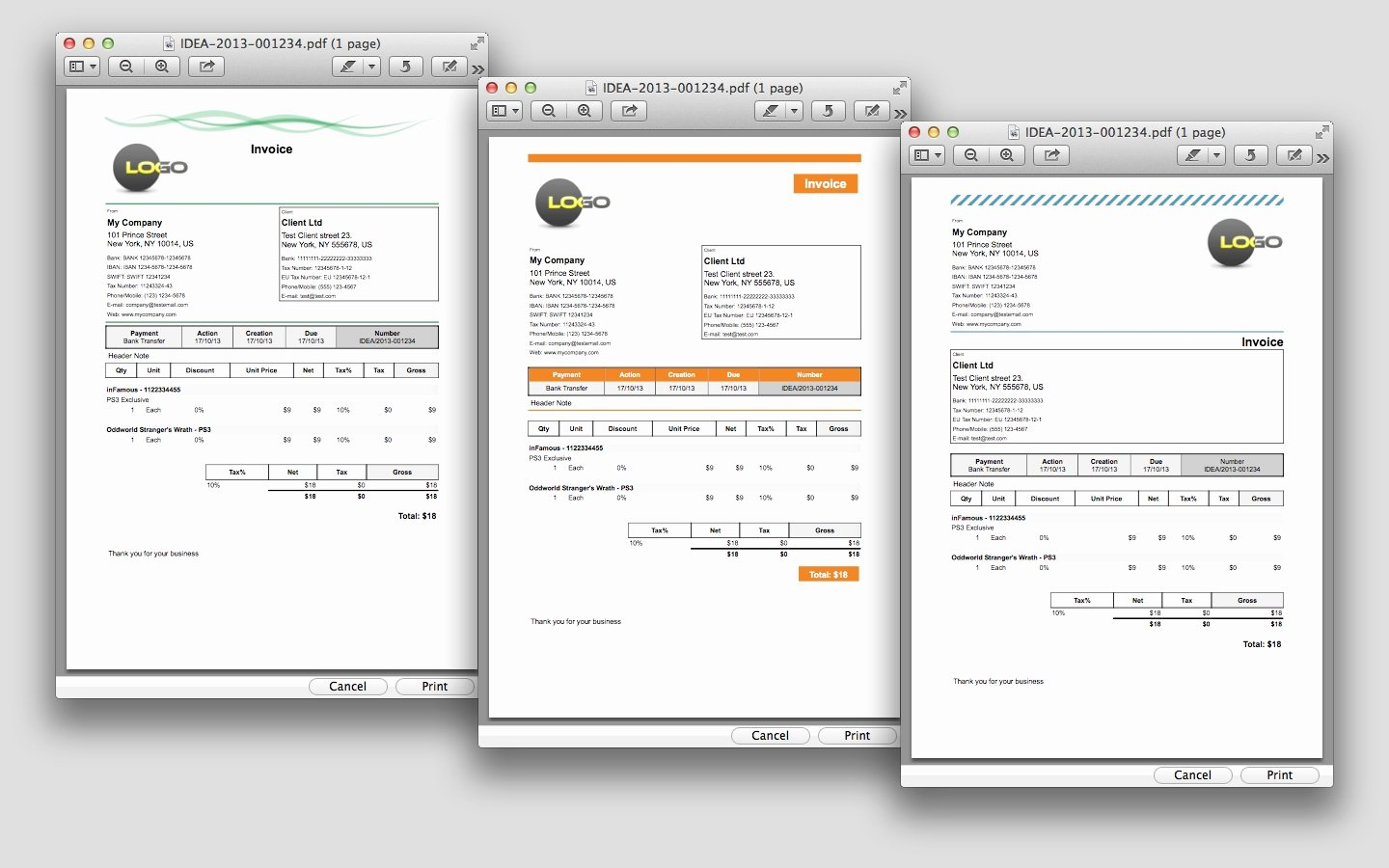 Invoice Template for Mac Inspirational Invoice App for Mac Invoice Template Ideas