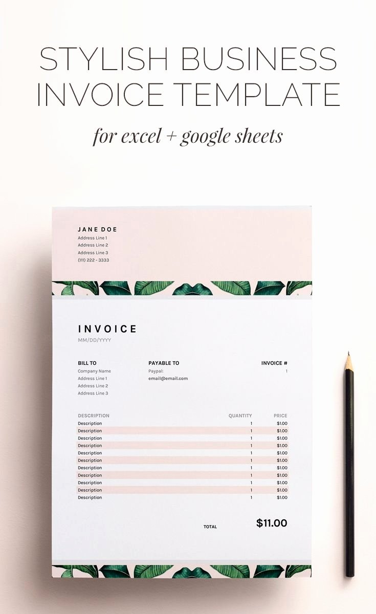 Invoice Template Google Sheets Best Of Stylish Invoice Template the Worst Advices We Ve Heard for
