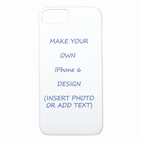 iPhone 6 Case Template Inspirational Popular iPhone 7 Case Template Insert Your