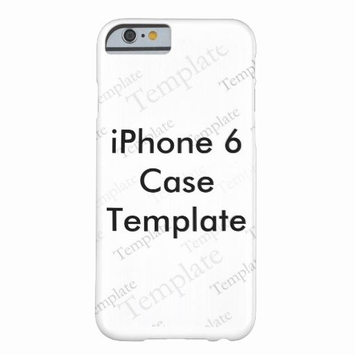 iPhone 6 Case Template Lovely New iPhone 6 Slim Case Custom Template