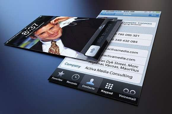 iPhone Business Card Template Best Of Best Collection iPhone Business Card