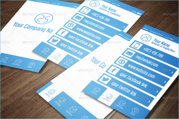 iPhone Business Card Template Unique 20 iPhone Business Card Templates Free Psd Designs