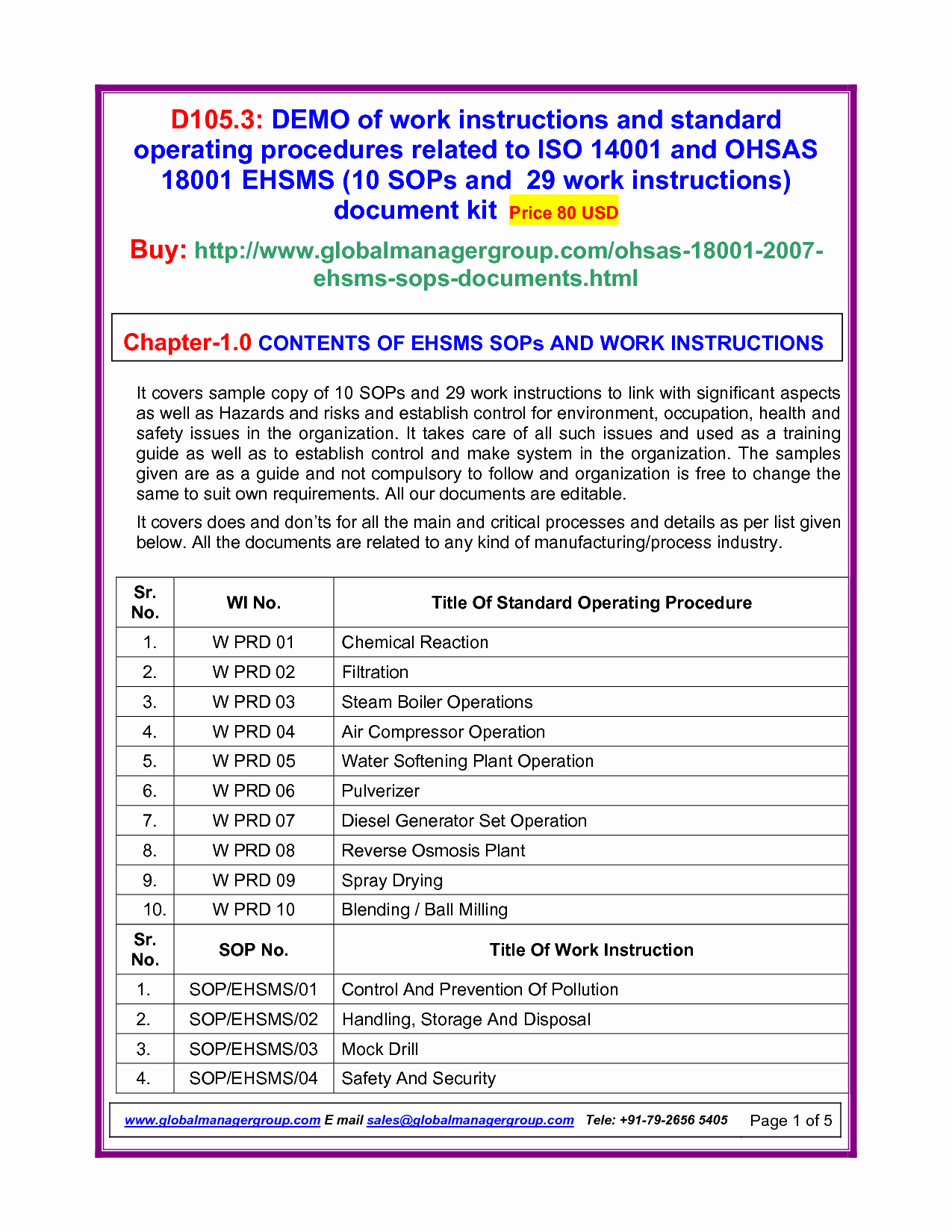 Iso Work Instruction Template Best Of Best S Of Instruction Document Template Work