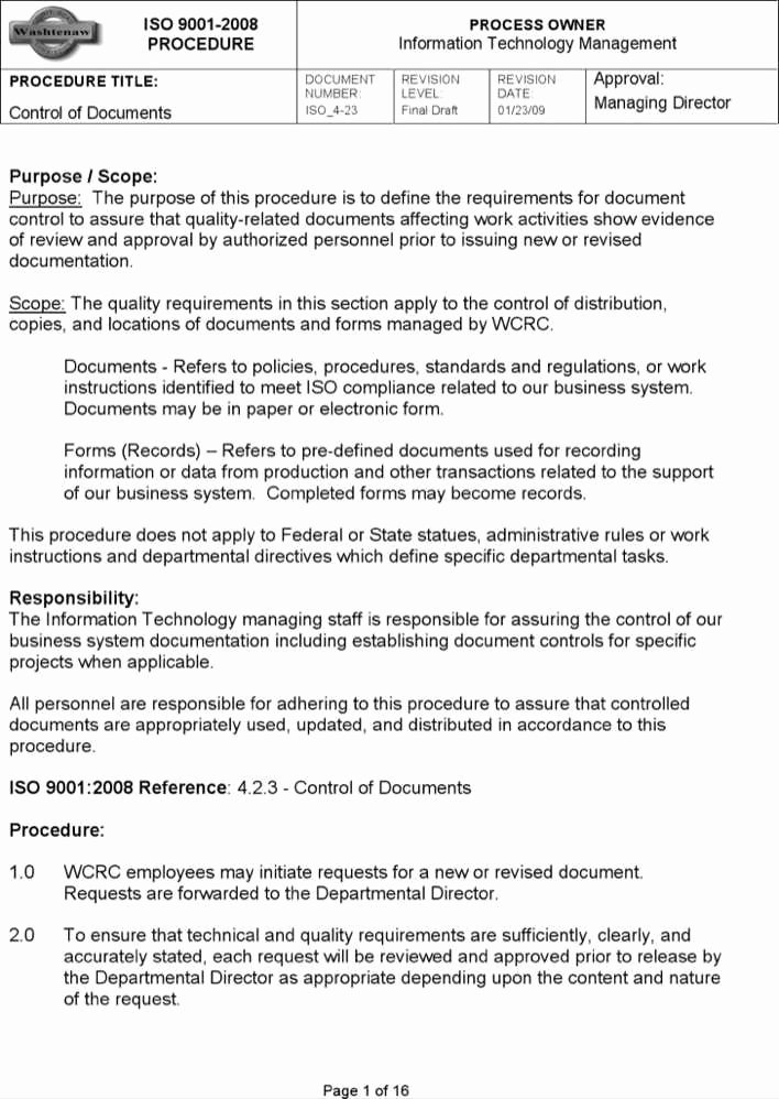Iso Work Instruction Template Best Of Download iso Work Instruction Template for Free
