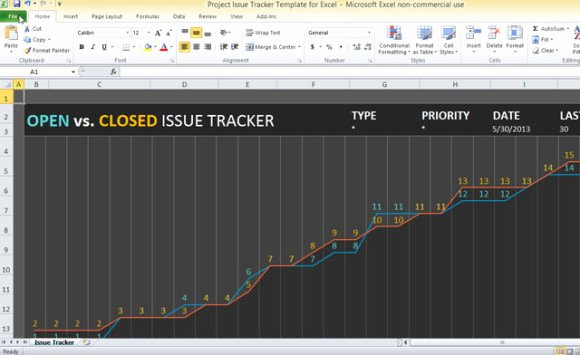 Issue Tracking Template Excel Elegant Project issue Tracker Template for Excel