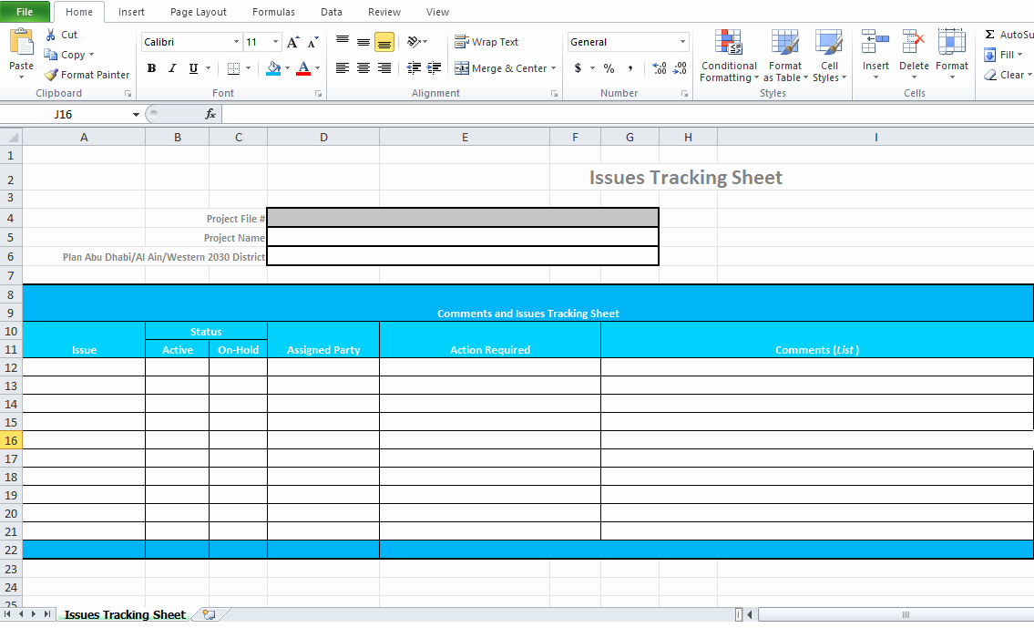 Issue Tracking Template Excel Unique issue Tracking Template Excel Microsoft Excel Tmp