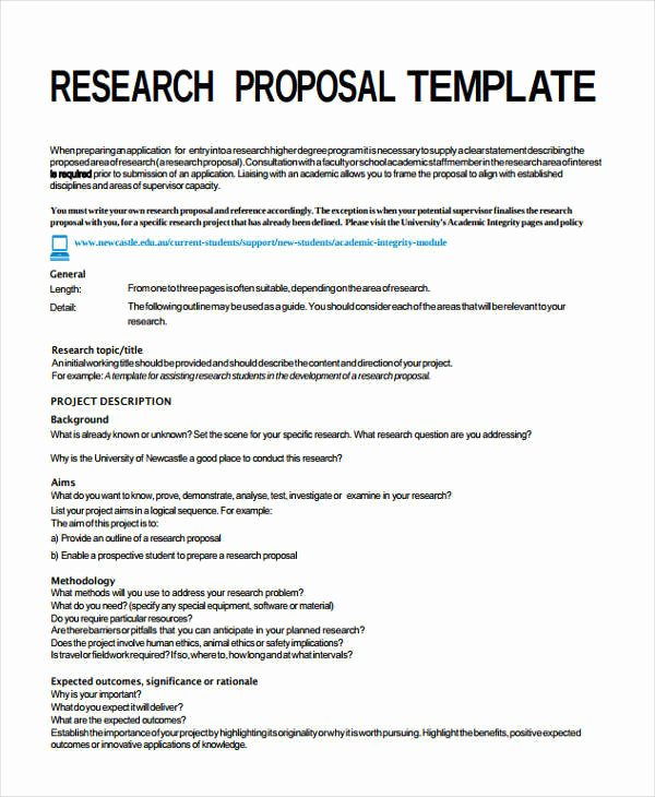 It Project Proposal Template New 7 Project Proposal Templates – Examples In Word Pdf