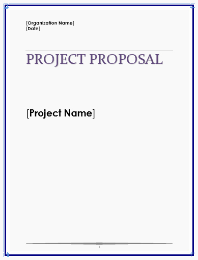 It Project Proposal Template New Proposal Templates Archives Microsoft Word Templates