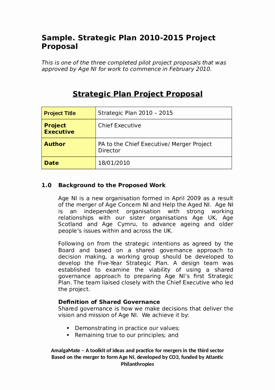 It Project Proposal Template Unique Project Proposal Template How to Write A Project