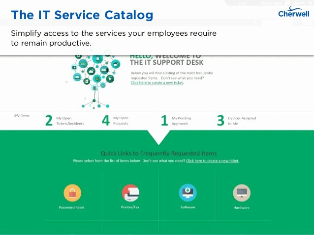 It Service Catalog Template New It Service Catalog Examples