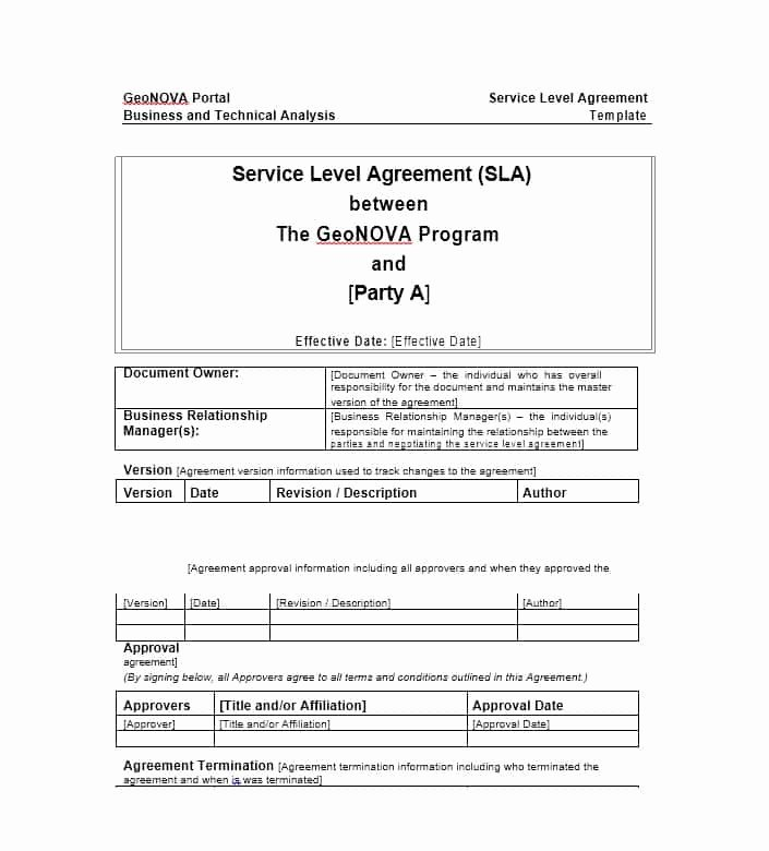 It Support Contract Template Luxury 50 Professional Service Agreement Templates & Contracts