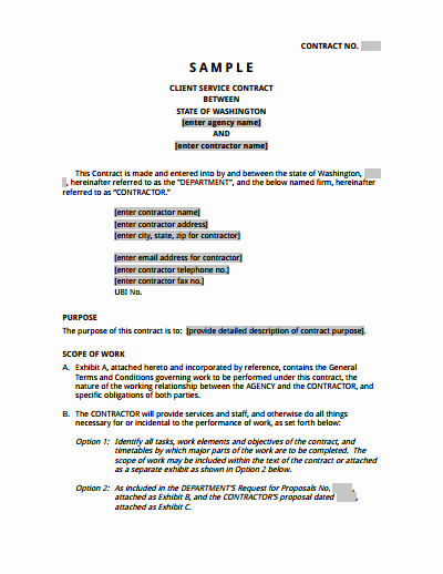 It Support Contract Template Unique Service Agreement Template Free Download Create Edit