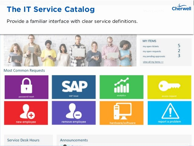Itil Service Catalog Template Lovely It Service Catalog Examples