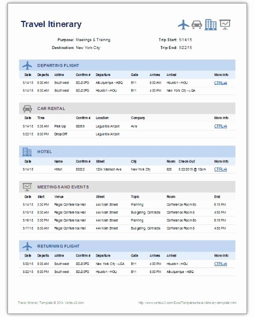 Itinerary Template Google Docs New Travel Itinerary Template Google Docs