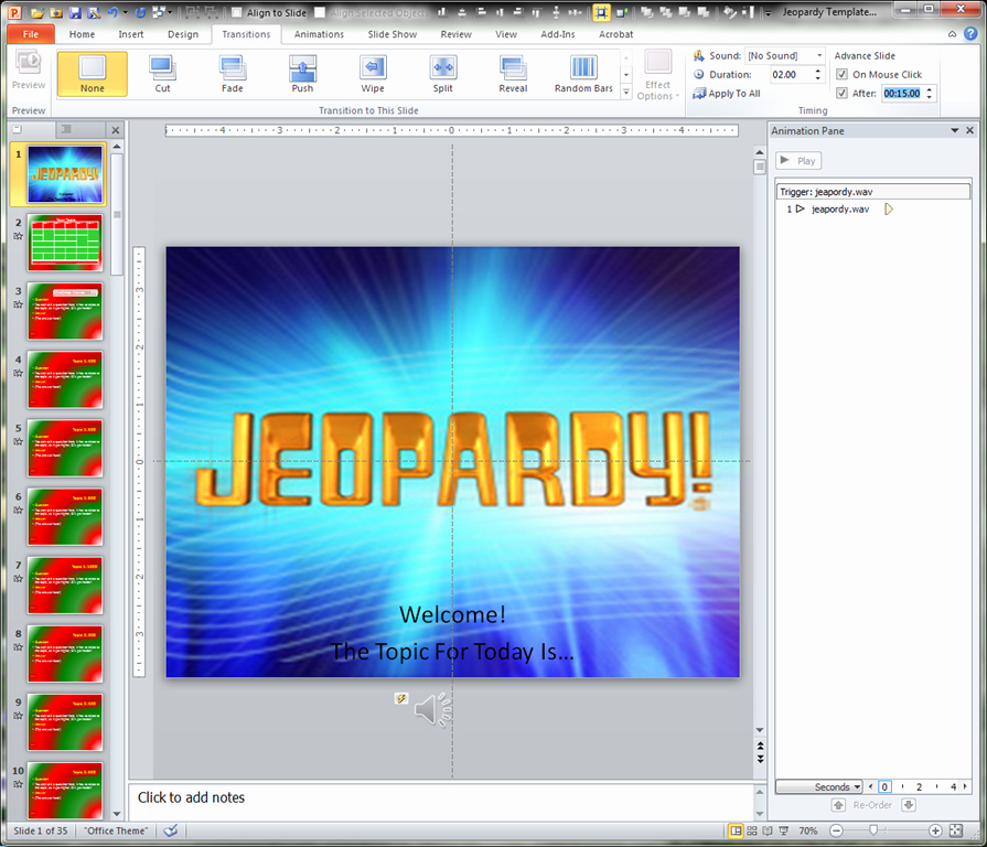 Jeopardy Game Template Ppt Beautiful Making A Jeopardy Game Board In Powerpoint to Supplement