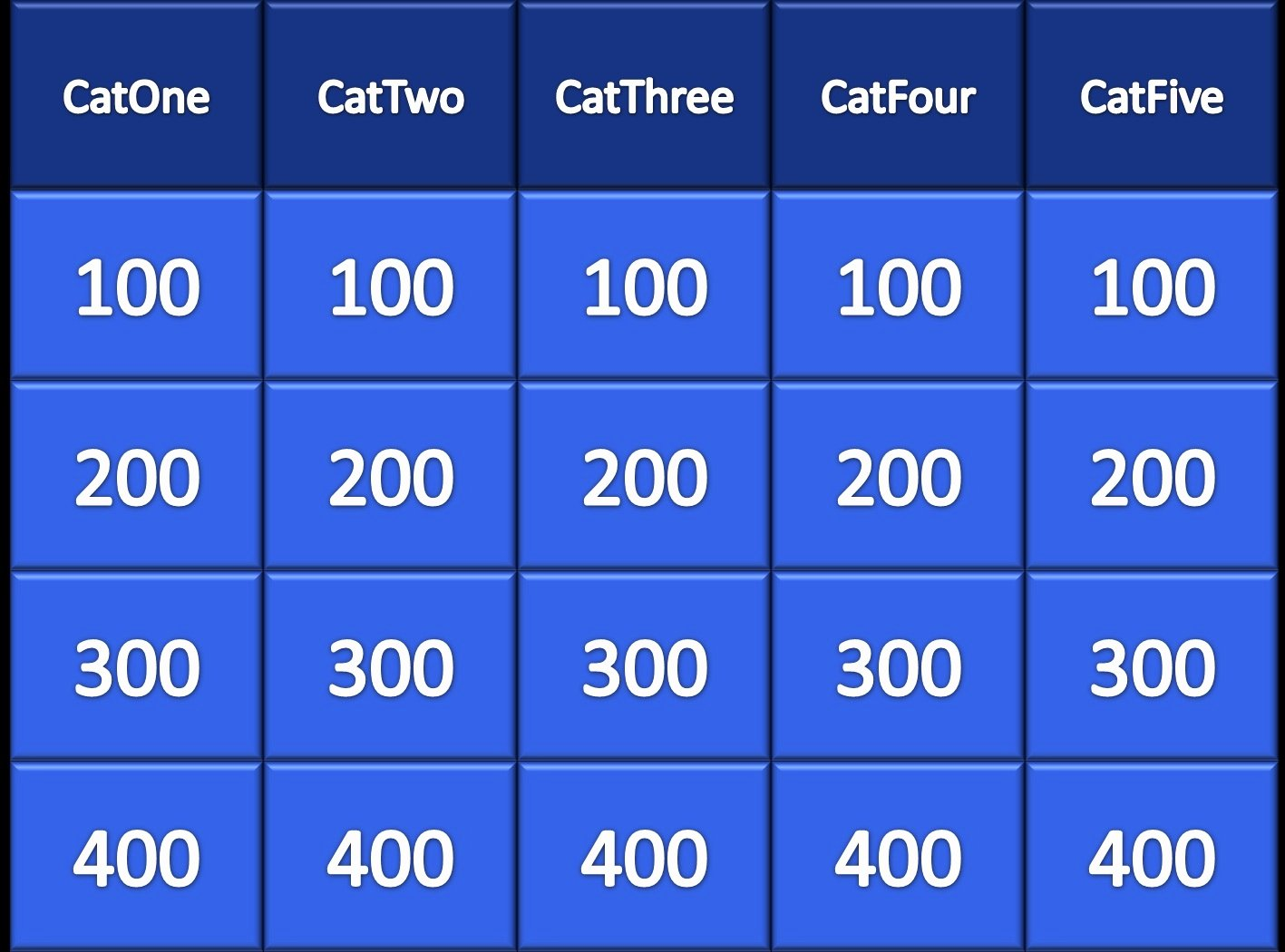 Jeopardy Game Template Ppt Beautiful Powerpoint Jeopardy 5 Steps