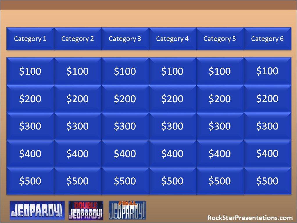 Jeopardy Game Template Ppt Elegant Jeopardy Powerpoint Download – Pontybistrogramercy