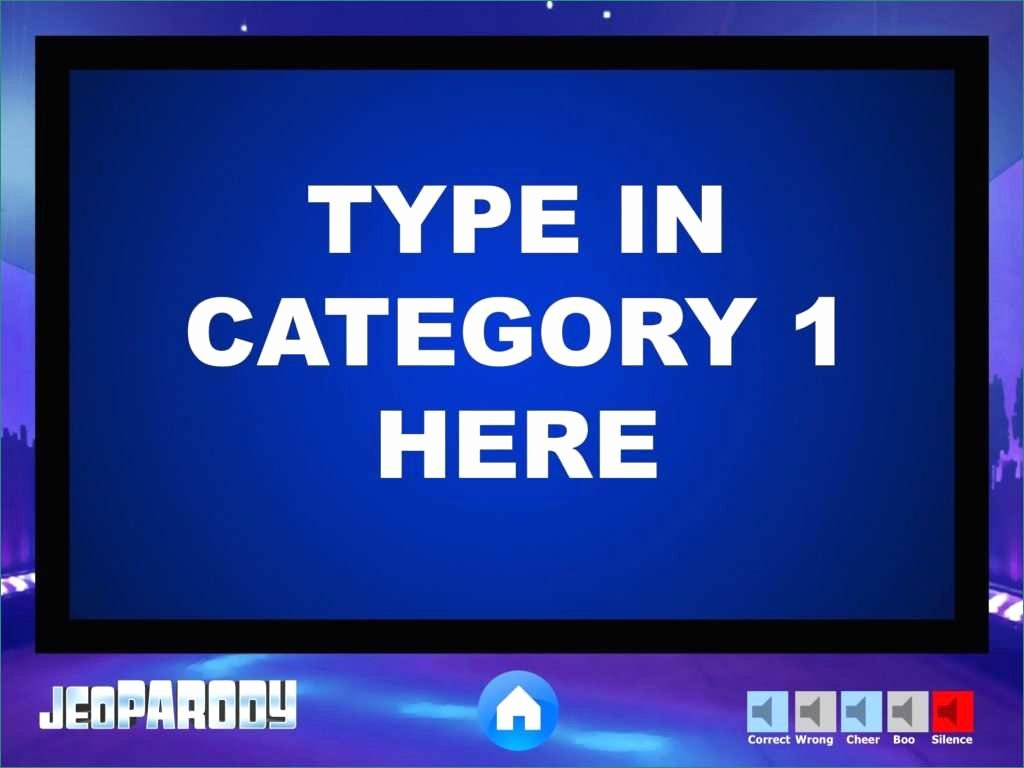 Jeopardy Game Template Ppt Inspirational Template Jeopardy Template original Jeopardy Music
