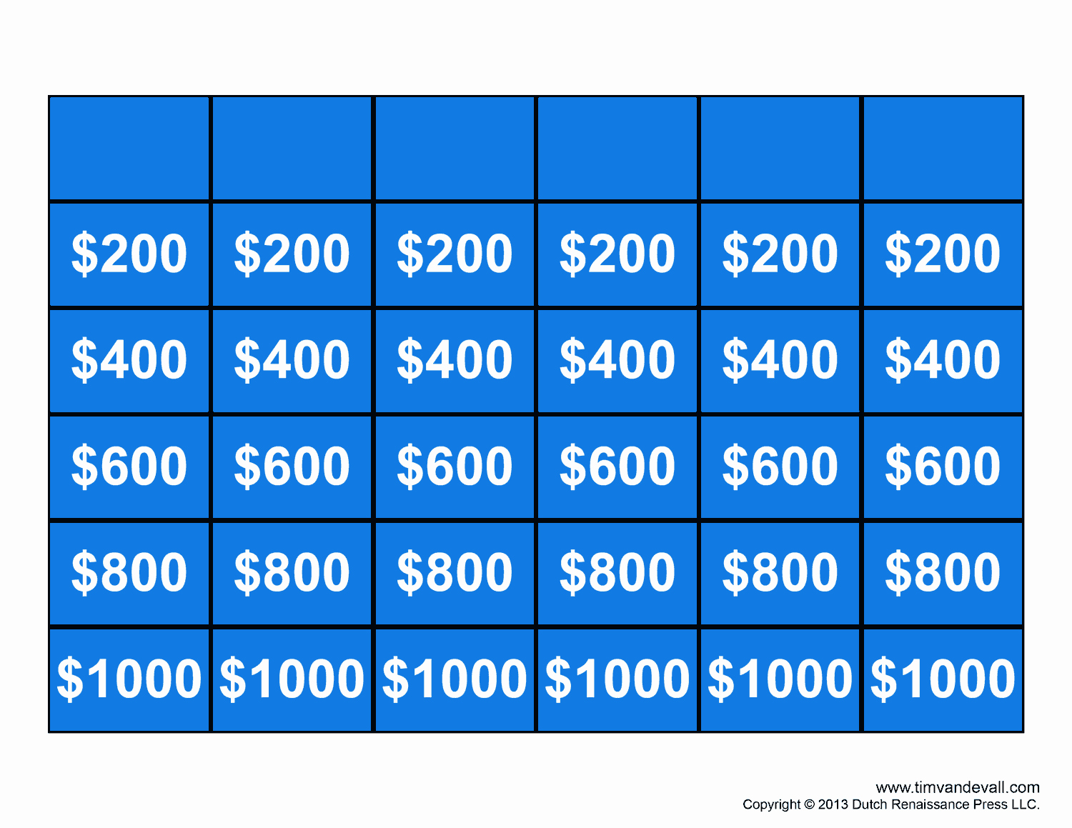Jeopardy Game Template Ppt New Free Jeopardy Template Make Your Own Jeopardy Game