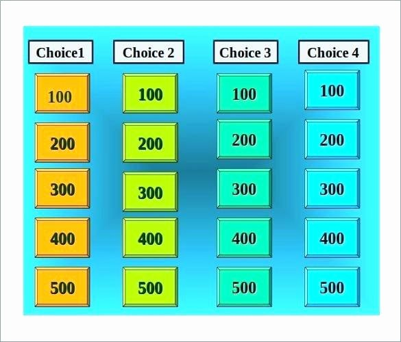 Jeopardy Template with Scorekeeper Inspirational Jeopardy Powerpoint Template with Score Blank Music Local