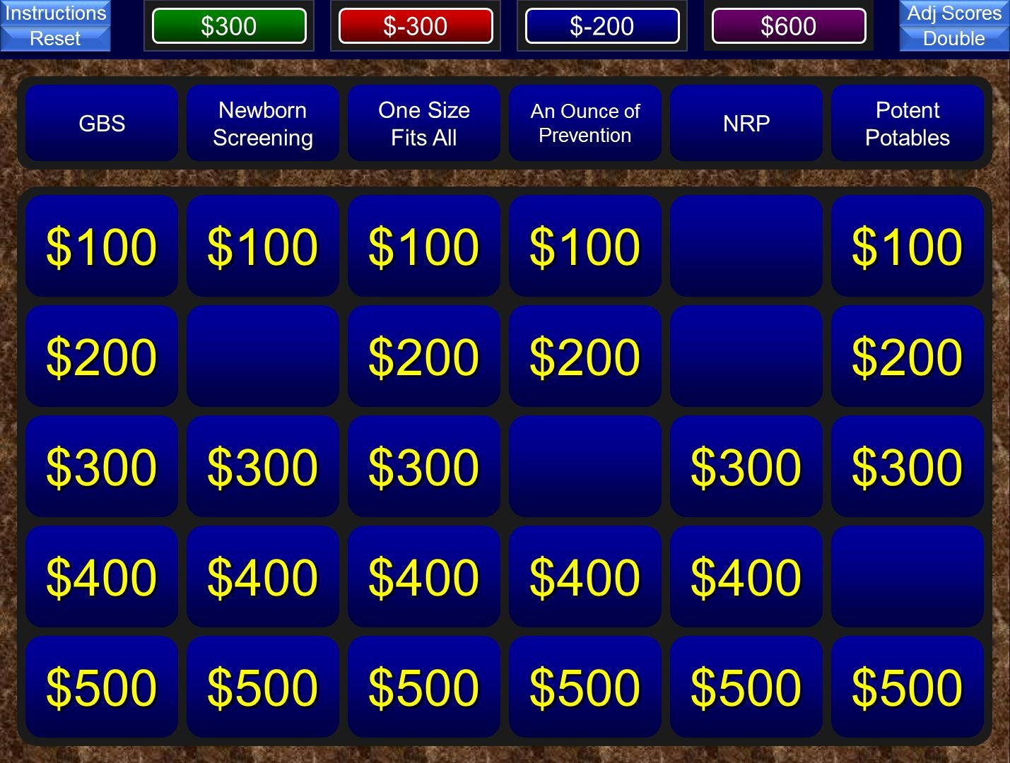 Jeopardy Template with Scorekeeper Lovely A Free Powerpoint Jeopardy Template for the Classroom