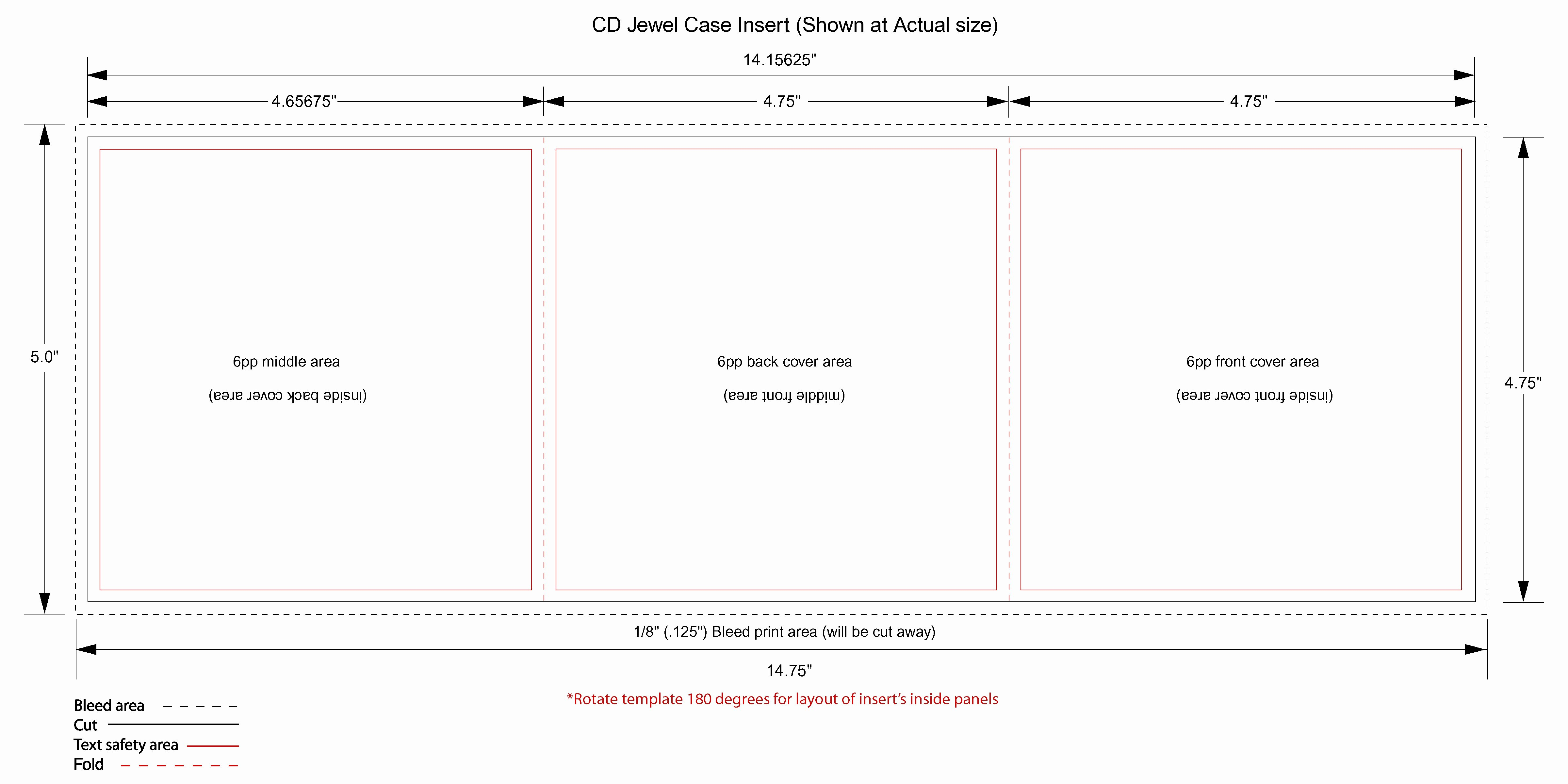 Jewel Case Inserts Template Best Of Cd Jewel Case Template