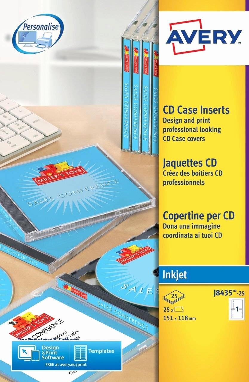 Jewel Case Inserts Template Elegant Cd Case Inserts J8435 25