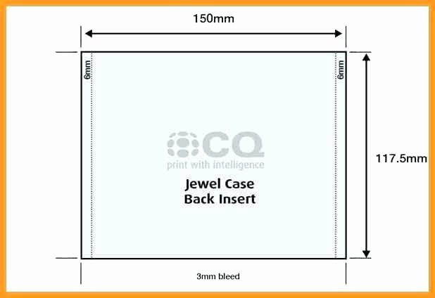 Jewel Case Inserts Template Elegant Create Your Own and Labels Using Free Ms Word Templates