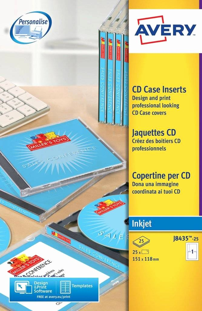 Jewel Case Inserts Template Inspirational Cd Case Inserts J8435 25