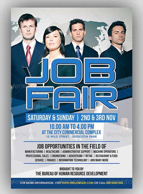 Job Fair Flyer Template Unique 10 Job Fair Flyer Samples Psd Word Ai Indesign