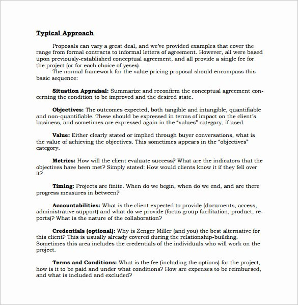 Job Position Proposal Template Elegant Sales Proposal Template 17 Free Sample Example format