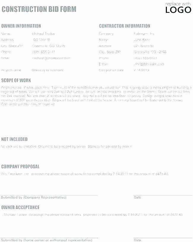 Job Proposal Template Pdf Inspirational Work Proposal Template Free Work Proposal Template