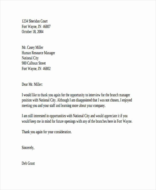 Job Rejection Email Template Lovely 17 Job Refusal Letter Examples Word Apple Pages