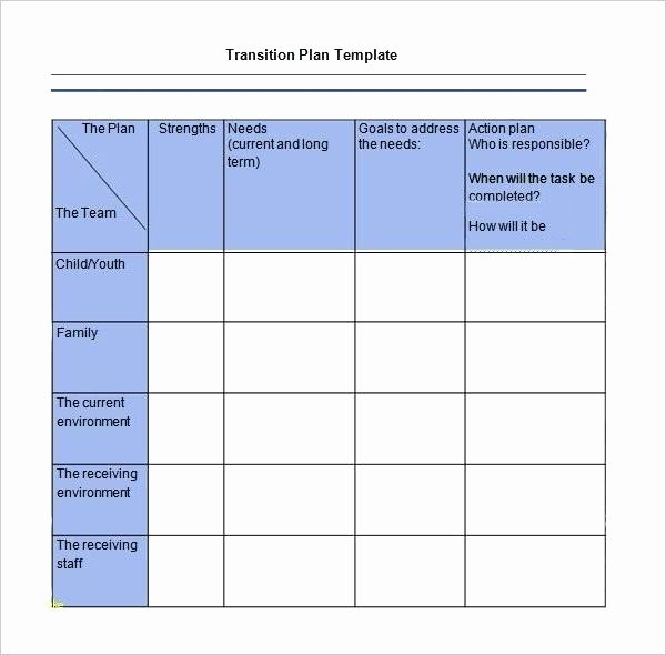 Job Transition Plan Template Lovely Download Job Transition Plan Template for Free Page 1