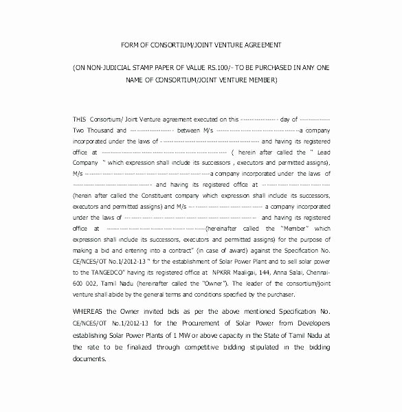 Joint Development Agreement Template Unique Joint Development Agreement Template – Illwfo