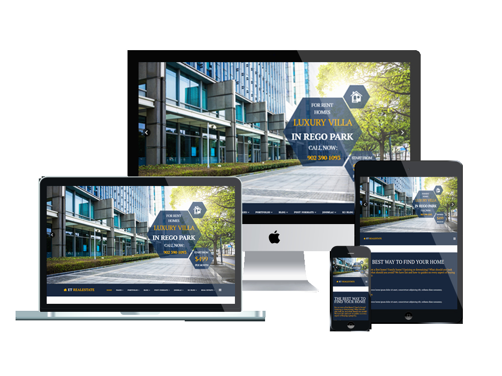 Joomla Real Estate Template Awesome Et Real Estate – Free Responsive Joomla Real Estate Template