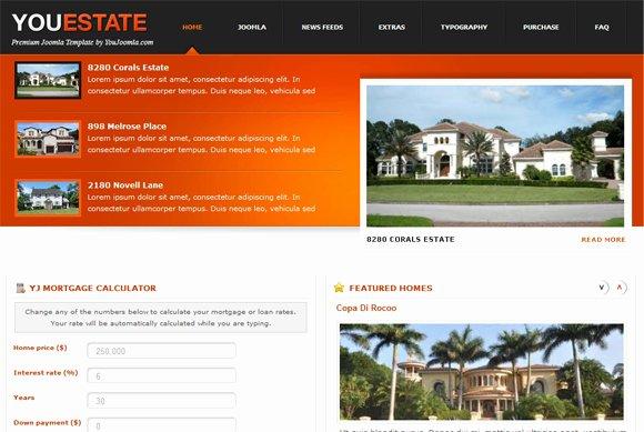 Joomla Real Estate Template Beautiful top 5 Real Estate Joomla Templates