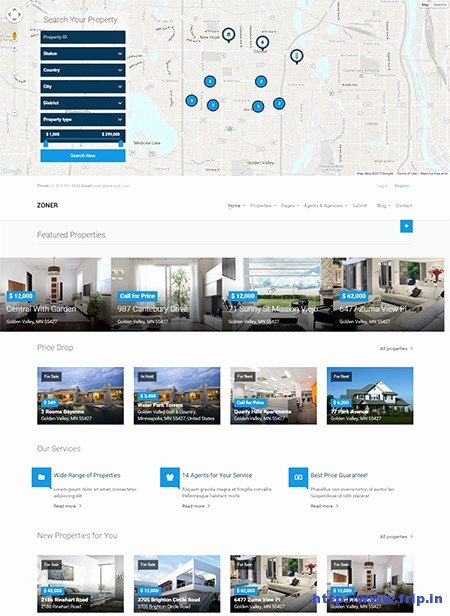 Joomla Real Estate Template Elegant 13 Best Joomla Real Estate Templates 2015