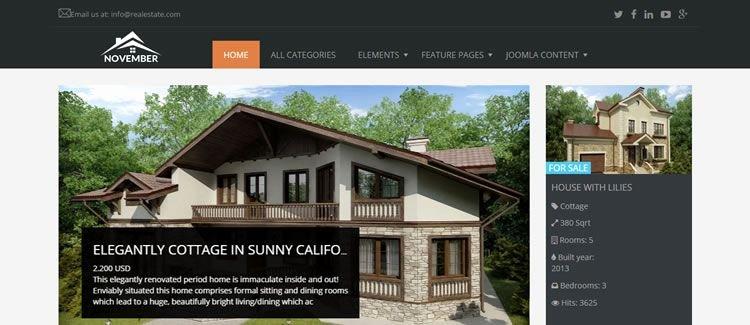Joomla Real Estate Template Inspirational the 20 Best Free Responsive Joomla Templates