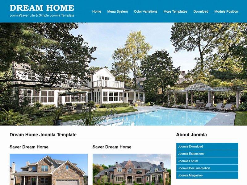 Joomla Real Estate Template Unique Jsr Dream Home Joomla Real Estate Template