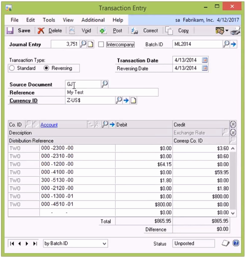 Journal Entry Template Excel Fresh How to Copy and Paste Multiple Journal Entries From Excel