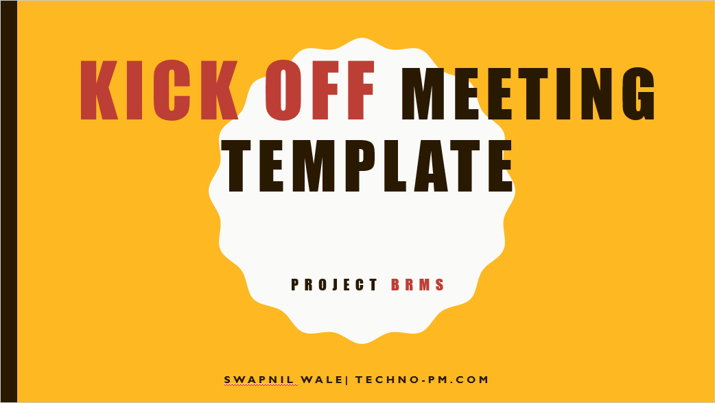 Kick Off Meeting Template Beautiful Project Kickoff Meeting Template Download Free Project