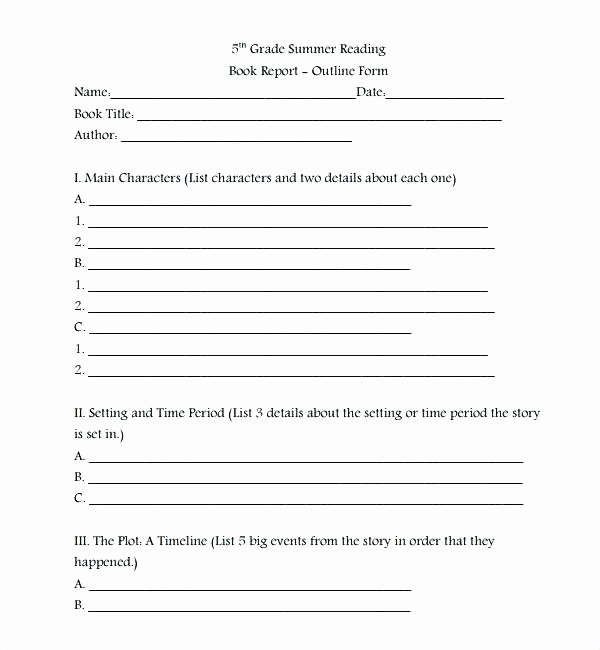 Kindergarten Book Report Template Best Of Printable Book Report forms Elementary Simple Template